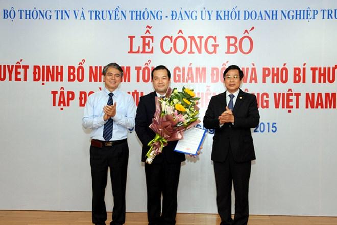 Tong Giam Doc VNPT Pham Duc Long
